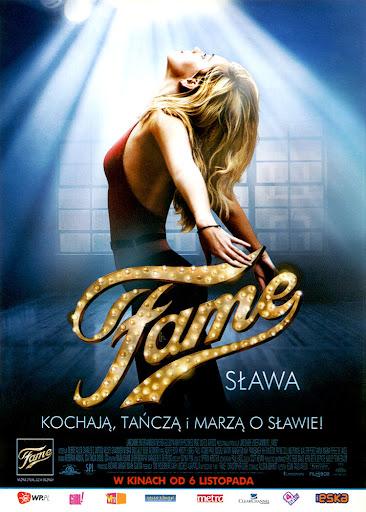 Przód ulotki filmu 'Fame'