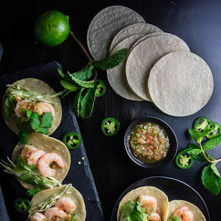 Vietnamese Shrimp Street Tacos.