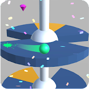 Helix Down: Ball Jump On Helix Road