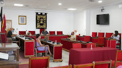 Pleno del Ayuntamiento de Adra.