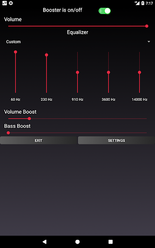 Speaker Booster with Bass Booster and Equalizer 3.1 screenshots 18