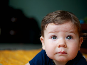 Photo: Beautiful boy, just lounging around the house.