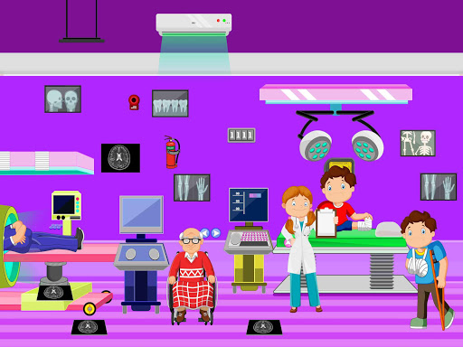Pretend Town Hospital: City Doctor Life Game 1.0.6 screenshots 4