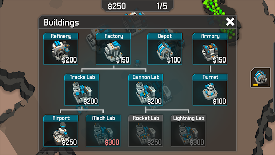 MechCom 3 – 3D RTS Mod Apk Download For Android and Iphone 2