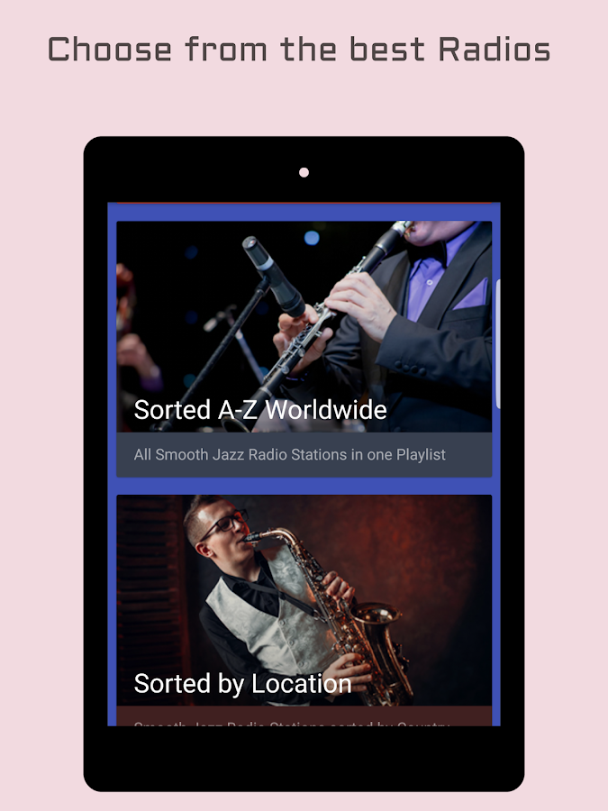 Smooth Jazz Radio Stations- screenshot