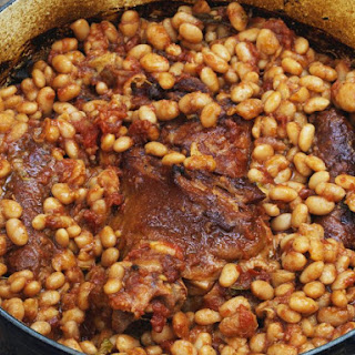 Baked Beans with Chorizo.