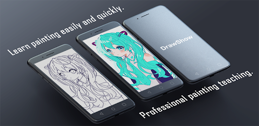 Learn to draw anime - DrawShow app (apk) free download for Android/PC/Windows screenshot