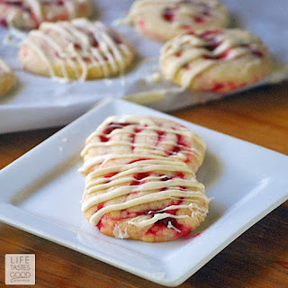 Cranberry Pinwheel Cookies.
