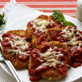 Crispy Cheesy Chicken Parmesan
