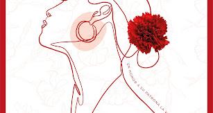 Cartel de la autora ganadora, Laura Navarro, diseñadora gráfica de la Agencia almeriense  de Publicidad Plataforma x las Marcas.