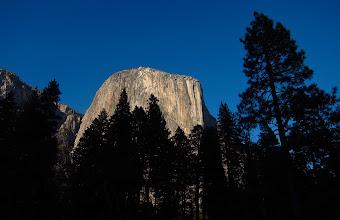 Photo: 5pm, El Capitan at dusk. #2689