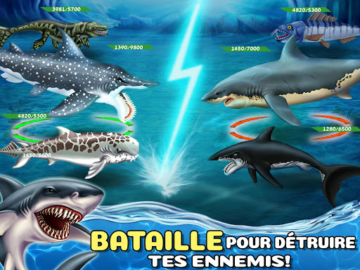 Code Triche Shark World APK MOD screenshots 2