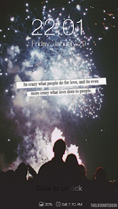 Love Quotes Wallpapers Locker screenshot 6