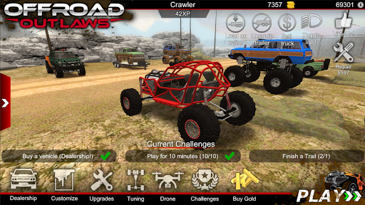 Offroad Outlaws 3.6.6 Mod screenshots 1