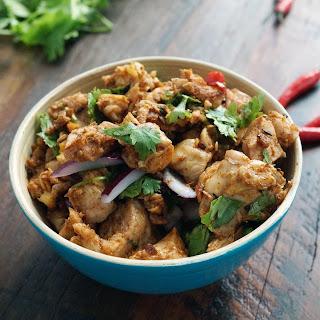 Nepalese Chicken Choila.
