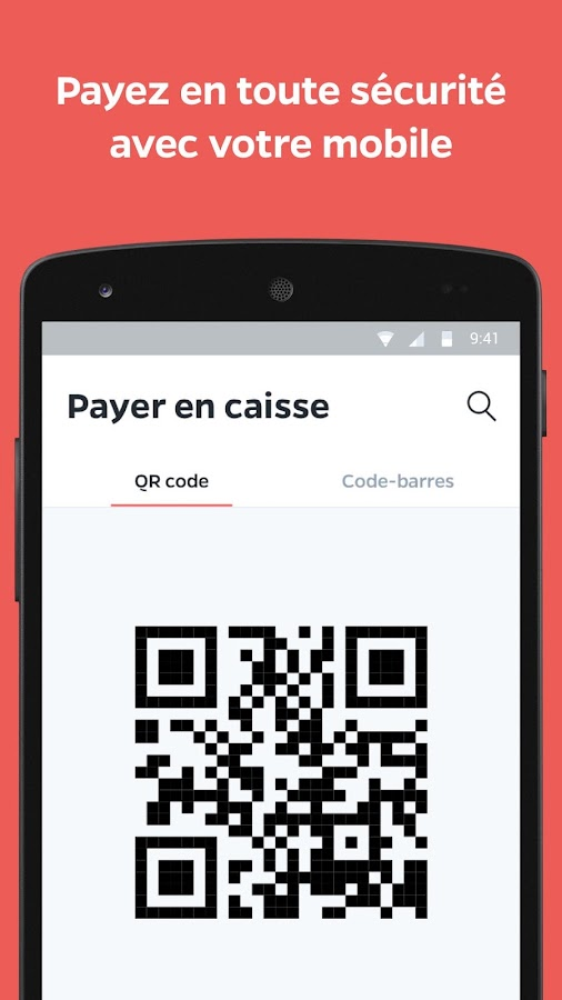 Lyf Pay : le paiement mobile – Capture d'écran