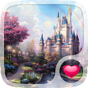 Fairy tale Hearts Wallpaper icon
