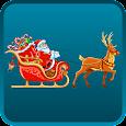 Santa Sleigh Live Wallpaper icon