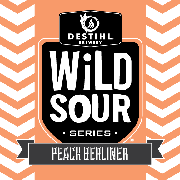 Logo of DESTIHL Wild Sour Series: Peach Berliner