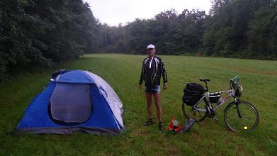 Photo: Az első táborhely