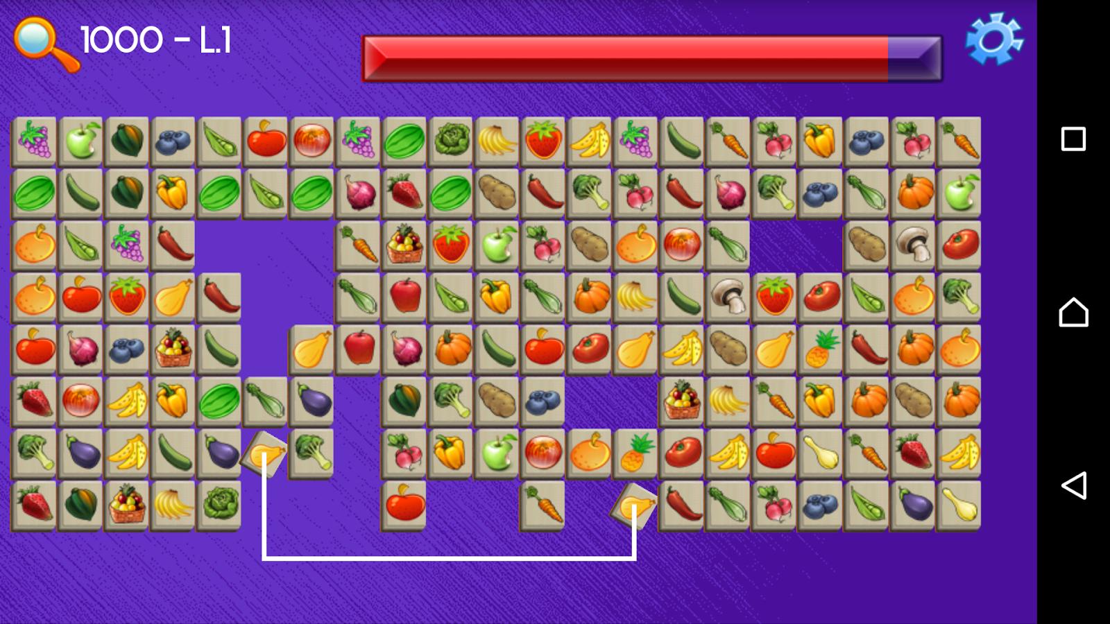 Game onet fruit - Onet Connect Fruit Screenshot
