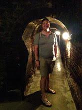 Photo: cool underground cellar tour & cava tasting