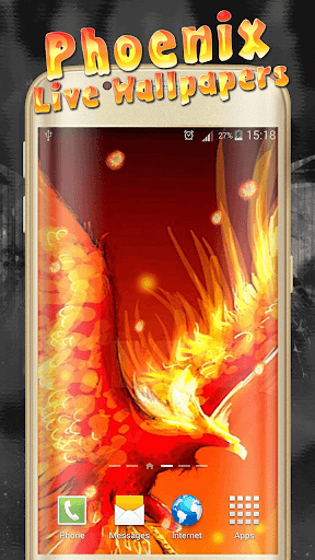 Phoenix Live Wallpaper  screenshots 8