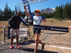 Photo: Max King wins the 2012 USA 50k Trail Championships