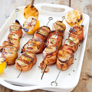 Ham Wrapped Scallops