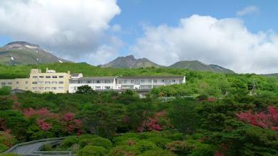 Photo: 左から茶臼岳、朝日岳、三本槍岳