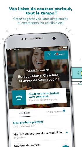 CoursesU.com vos courses en ligne Android App Screenshot