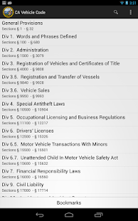 2016 CA Vehicle Code- screenshot thumbnail