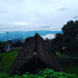 Tribal Hut by Pranay  Vats - Novices Only Landscapes ( mountains, monsoon, hut, tribal, travel photography )