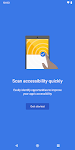 screenshot of Accessibility Scanner
