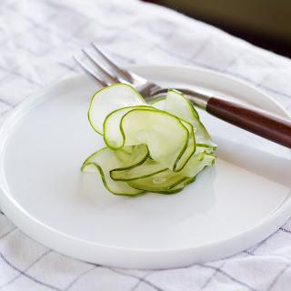 Scandinavian Quick Pickled Cucumbers