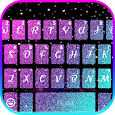 Colorful 3d Galaxy Keyboard Theme icon