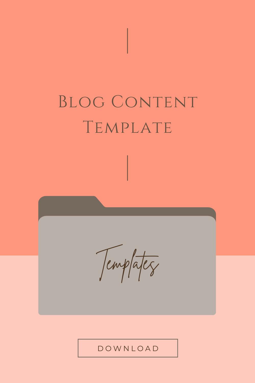 Blog Content Template