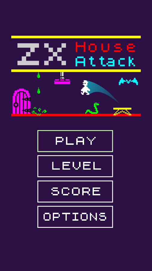 ZX House Attack- screenshot