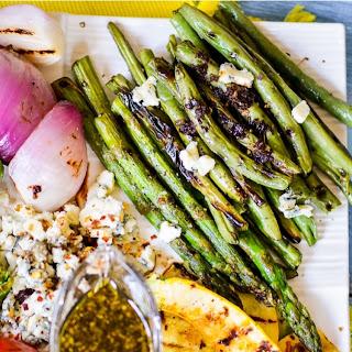 Grilled Vegetables Salad with Balsamic Dressing