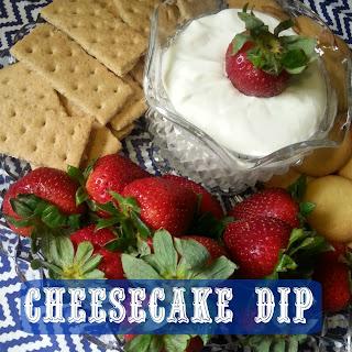 Cheesecake Dip (For Berries or Fruit).