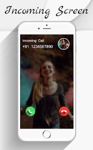 HD Phone 8 i Call Screen OS 11 - náhled