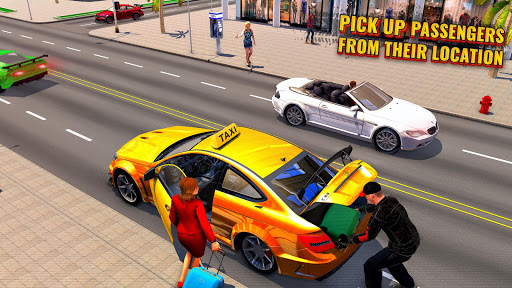 Pro Taxi Driver : City Car Driving Simulator 2020 1.1.8 screenshots 2