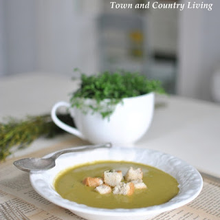 Spring Green Soup.
