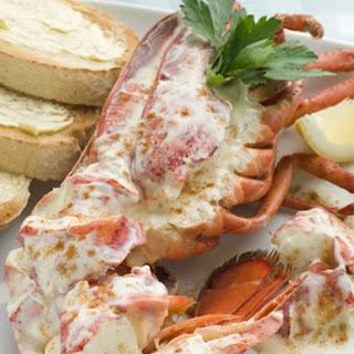 Sensational Lobster Newberg.