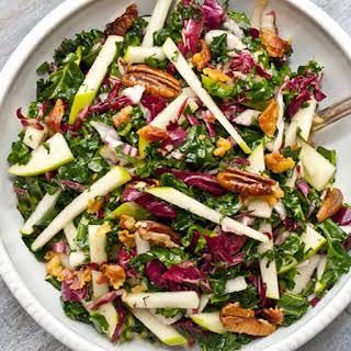 Pecan, Granny Smith & Kale salad.