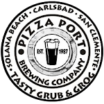 Pizza Port Beach Umbrella