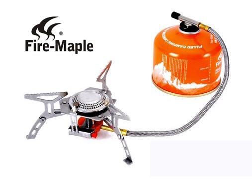 2.เตาแก๊สกระป๋องสำหรับแคมป์ปิ้ง FIRE-MAPLE