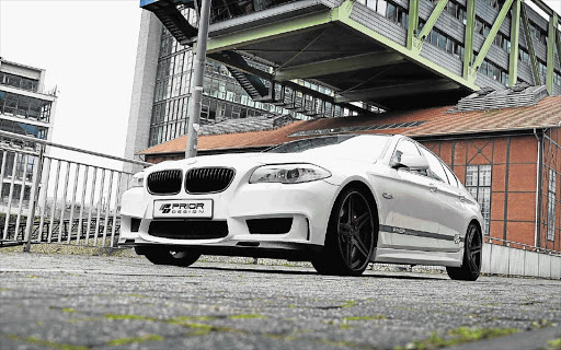 Prior Design give a regular BMW 5 Series all the presence of a fire-breathing M5