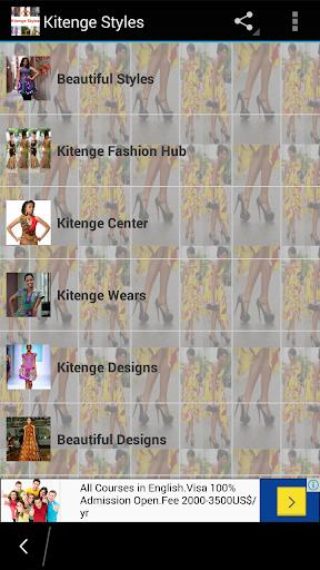 Kitenge Styles