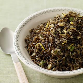 Lemon-Thyme Wild Rice Pilaf.